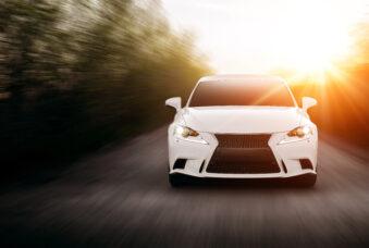 Car Speed Road Sun