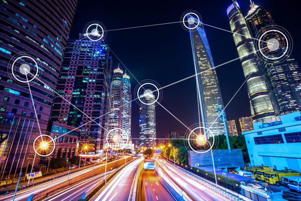 smart,city,building